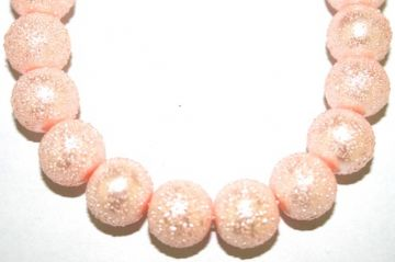6mm Baby Pink Glass Blister Moon Pearls- 155 pces (1)